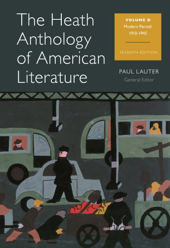 9781133310259: The Heath Anthology of American Literature: Volume D (Heath Anthology of American Literature Series)