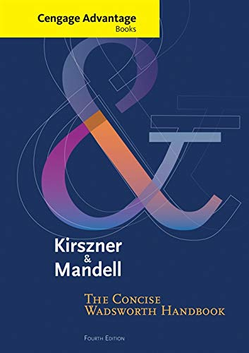 The Concise Wadsworth Handbook: Kirszner Mandell