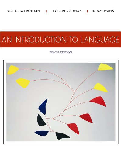 9781133310686: An Introduction to Language