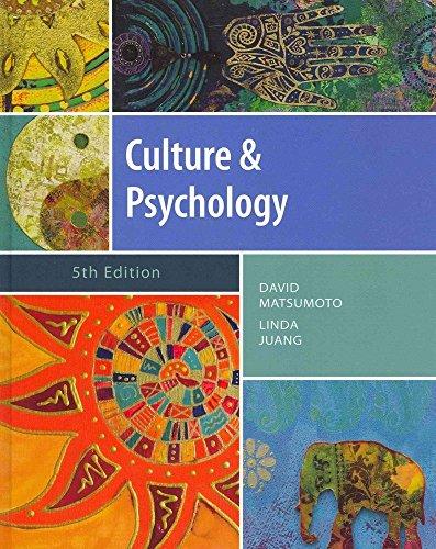 9781133311027: Culture & Psychology