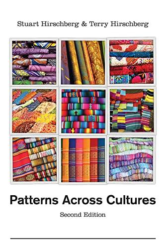 Patterns Across Cultures: Hirschberg, Stuart; Hirschberg,