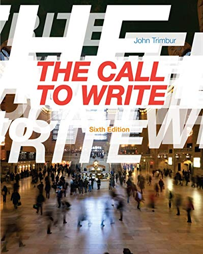 9781133311140: The Call to Write