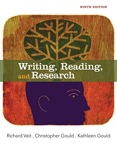 9781133311171: Writing, Reading, and Research