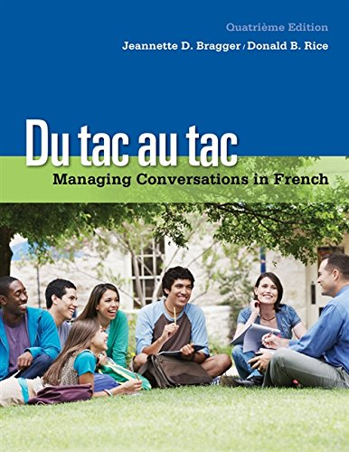 9781133311270: Du tac au tac: Managing Conversations in French