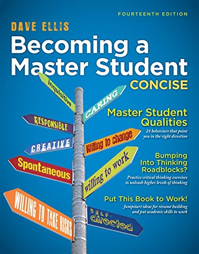 9781133311584: Becoming a Master Student: Concise (Textbook-specific CSFI)
