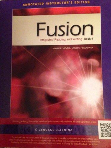 9781133312161: Aie Fusion Book 1