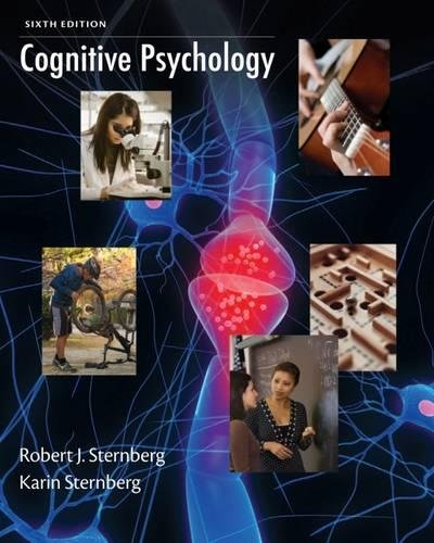 Cognitive Psychology: Sternberg, Robert
