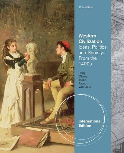 9781133314554: Western Civilization: Since 1400: Ideas, Politics, and Society