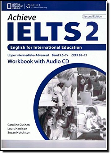 9781133316190: Achieve IELTS 2 Workbook + CD