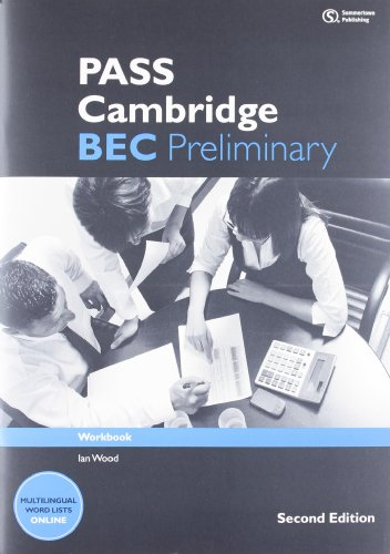 9781133316510: Pass Cambridge Bec Preliminary: Workbook