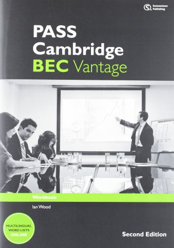 9781133316558: PASS Cambridge BEC Vantage: Workbook