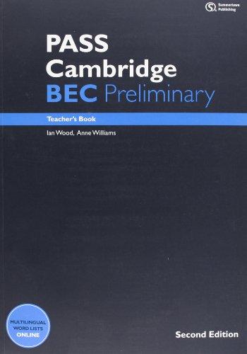 9781133317548: PASS Cambridge BEC Preliminary: Teacher's Book + Audio CD