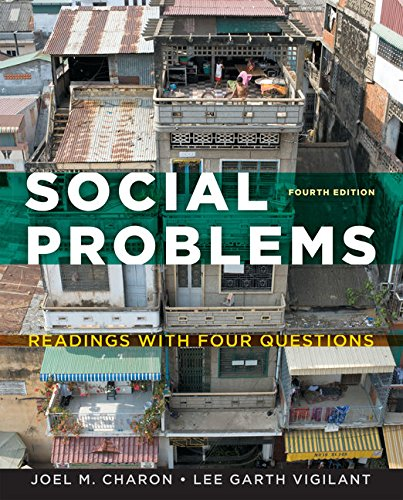 9781133318248: Social Problems: Readings with Four Questions