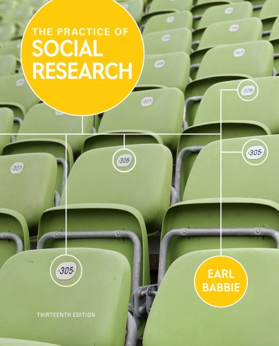 Bundle: The Practice of Social Research, 13th + Learning How to Use SPSS (113331998X) by Babbie, Earl R.