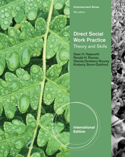 9781133354932: Direct Social Work Practice: Theory and Skills, International Edition