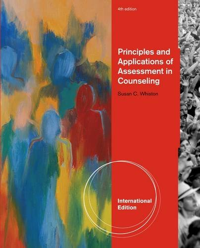 9781133355205: Principles and Applications of Assessment in Counseling