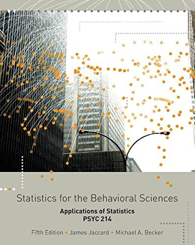 9781133358428: STATISTICS F/BEHAVIORAL SCI.>C