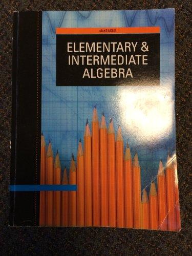 9781133358992: Acp Elementary and Intermediatealgebra