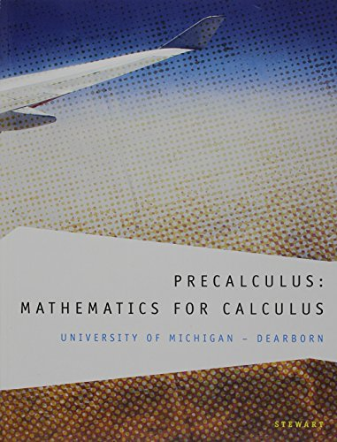 9781133359296: Custom Precalculus: Mathematics for Calculus