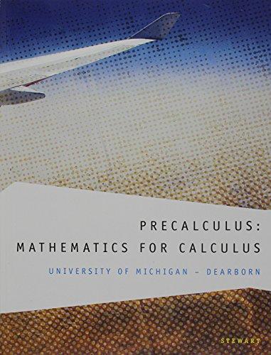 9781133359296: Custom Precalculus: Mathematics for Calculus