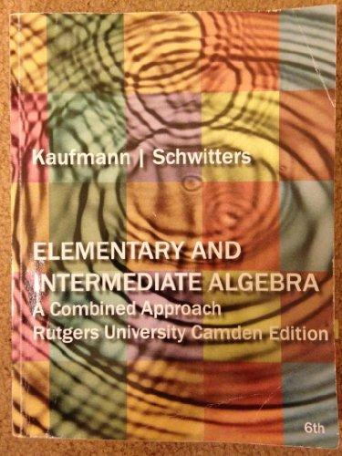 9781133362746: Elementry and Intermediate Algerbra