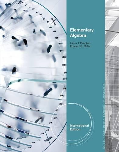 9781133364702: Elementary Algebra, International Edition