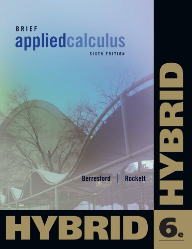 9781133364801: Applied Calculus, Brief Hybrid (with Enhanced WebAssign with eBook LOE Printed Access Card for One-Term Math and Science) (Cengage Learning's New Hybrid Editions!)