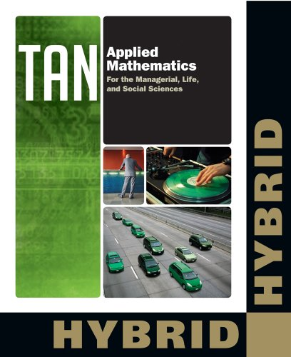 9781133364856: Applied Mathematics for the Managerial, Life, and Social Sciences, Hybrid (with Enhanced WebAssign with eBook LOE Printed Access Card for One-Term ... (Cengage Learning's New Hybrid Editions!)