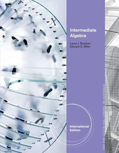 9781133365204: Intermediate Algebra