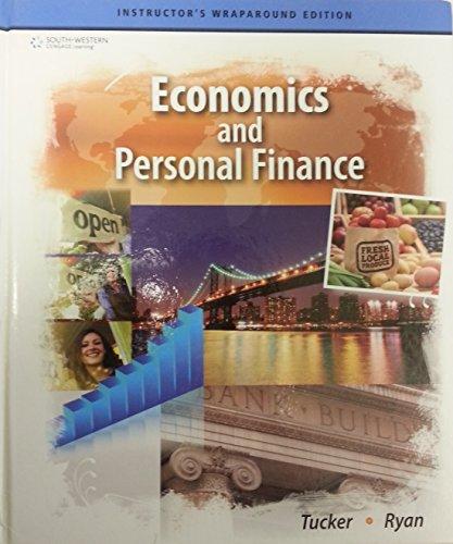 Economics and Personal Finance, Instructor's Wraparound Edition: Tucker Ryan