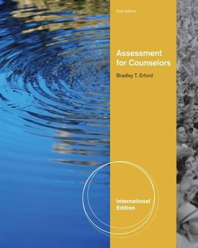 9781133371595: Assessment for Counselors