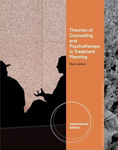 9781133371793: Theory and Treatment Planning in Counseling and Psychotherapy