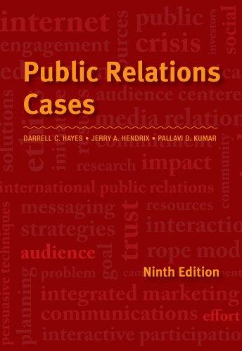 9781133393290: Public Relations Cases