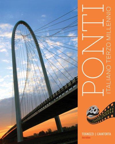 Bundle: Ponti, 3rd + Student Activities Manual: Tognozzi, Elissa, Cavatorta,