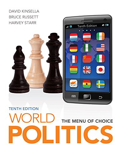 9781133397069: World Politics + Global Issues in Context Web Site Printed Access Card: The Menu for Choice