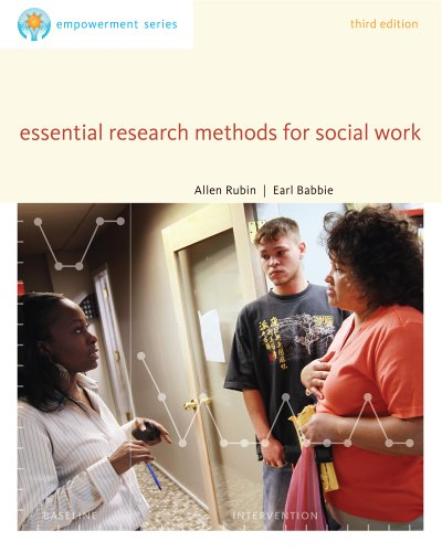 Bundle: Brooks/Cole Empowerment Series: Essential Research Methods for Social Work, 3rd + Practice Behaviors Workbook (1133399436) by Rubin, Allen; Babbie, Earl R.