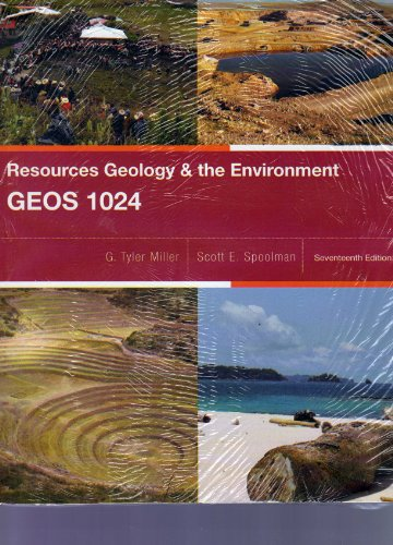 9781133399766: Resources Geology & the Environment GEOS 1024