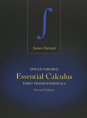 9781133426110: Bundle: Single Variable Essential Calculus: Early Transcendentals, 2nd + Enhanced WebAssign - Start Smart Guide for Students + WebAssign Printed ... Transcendentals, 2nd Edition, Multi-Term