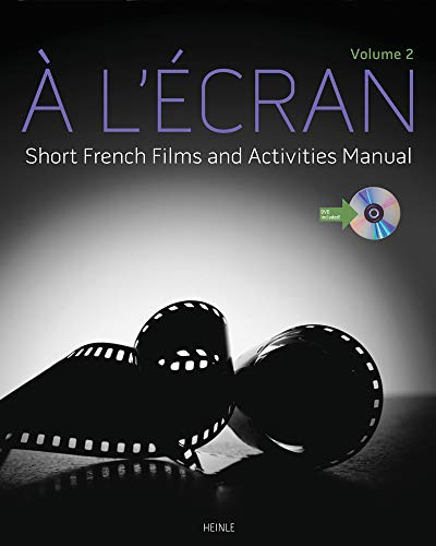 9781133434139: À l'ecran: Short French Films and Activities , Volume 2 (with DVD)