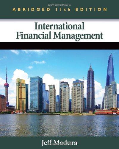 9781133435174: International Financial Management, Abridged Edition