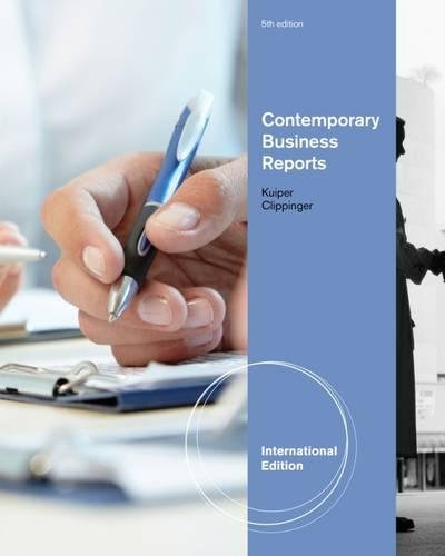 9781133435334: Contemporary Business Reports