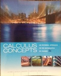 CALCULUS CONCEPTS >CUSTOM<: Donald R. LaTorre, John W. Kenelly, Iris B. Reed, Laurel R. ...