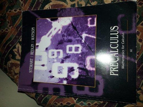 9781133439745: Precalculus: Mathematics for Calculus