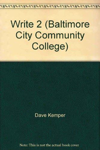 9781133440444: Write 2 (Baltimore City Community College)
