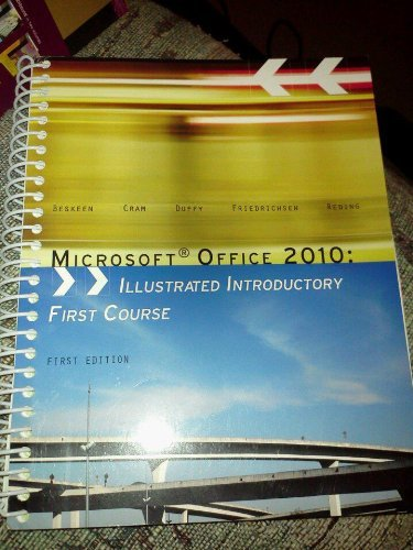 9781133441656: Microsoft Office 2010: Illustrated Introductory