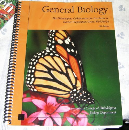 General Biology, 15th Edition (Community College of: N/A