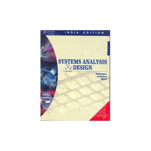 9781133447252: Systems Analysis and Design