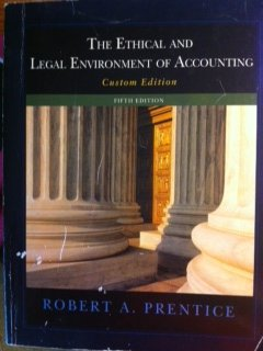 9781133447566: The Ethical and Legal Environment of Accounting
