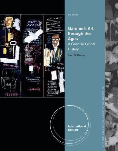 9781133490609: Gardner's Art Through the Ages: A Concise Global History, International Edition (with Arts CourseMate with eBook Printed Access Card)