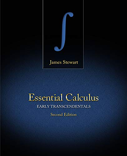 9781133490975: Student Solutions Manual for Stewart's Essential Calculus: Early Transcendentals, 2nd